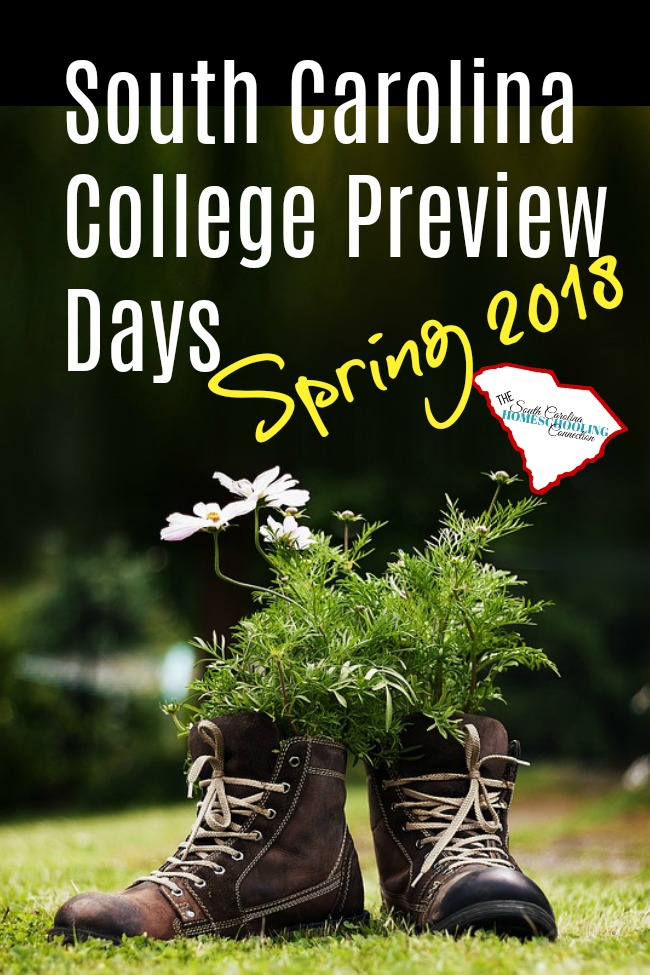 I love College Preview Days! Mark your calendars for these fanatastic College Preview Day Spring 2018.
