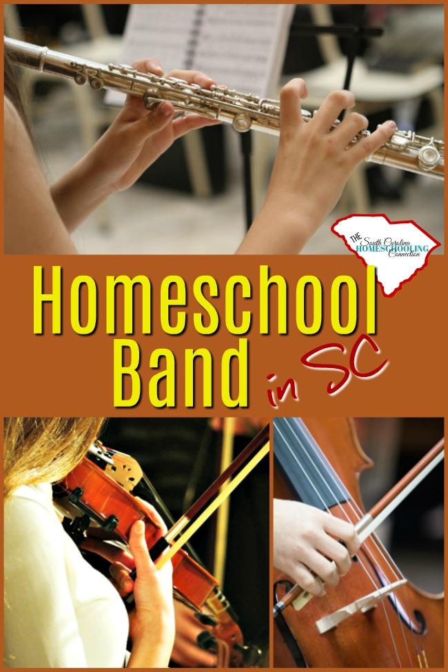 Homeschool Bands In South Carolina