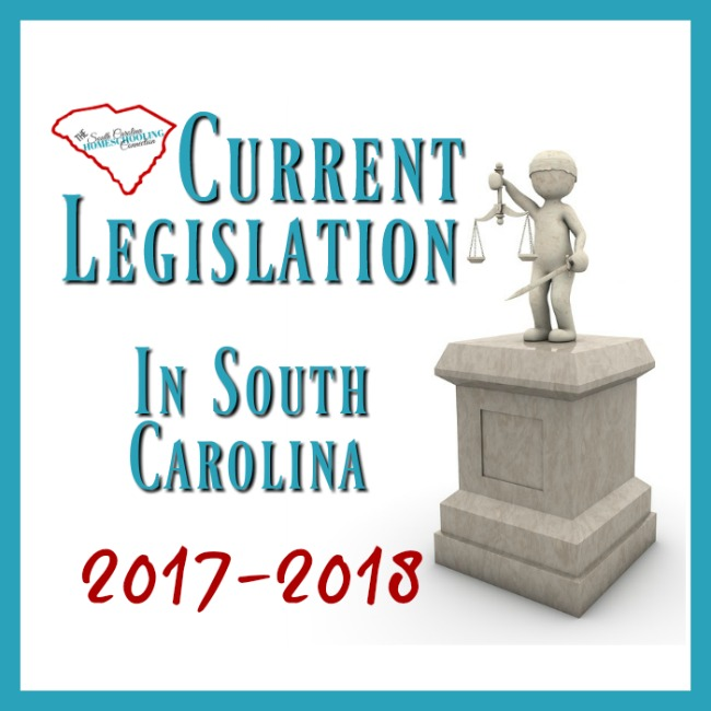 Current SC Legislation 2017-2018