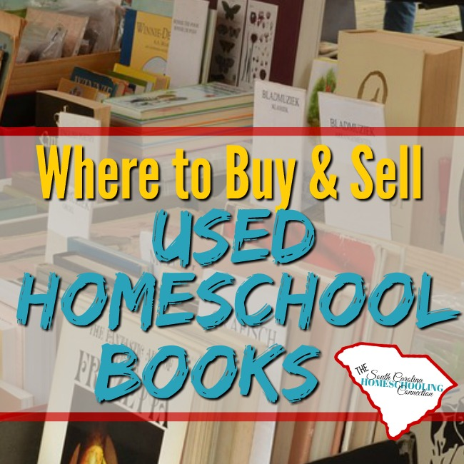 Where to Buy/Sell Used Homeschool Books in SC