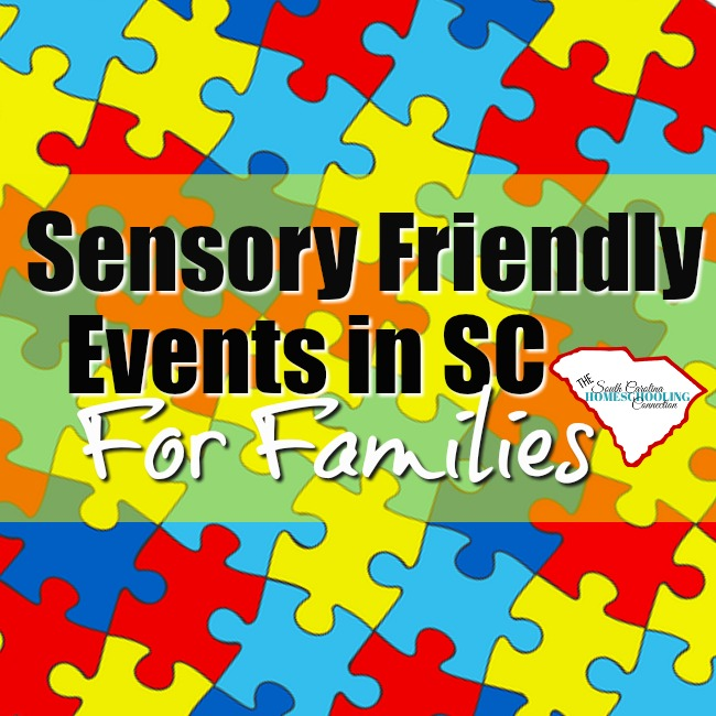 Special Needs Sensory Friendly Events in SC