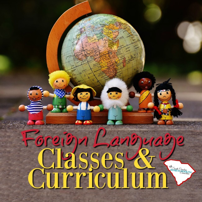 Where do you find Foreign Language or World Language Classes and Curriculum? Here!