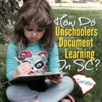 How do unschoolers document learning? How do we maintain the records required by law?  These are the most frequently asked questions I hear when talking with other homeschoolers and those curious about homeschooling and unschooling.