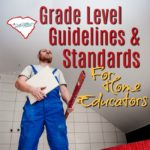 What sort of grade level guidelines and standards should homeschoolers follow? As you take on the responsibility of educating our own kids, some of you are wondering what you should be doing at each grade level.