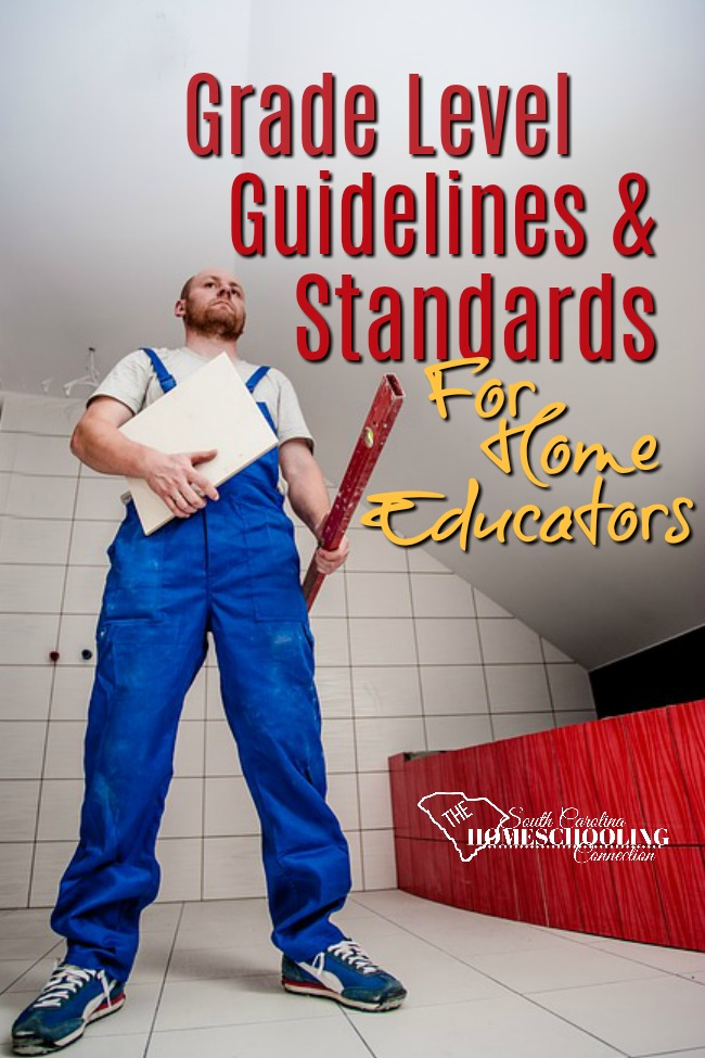 grade level guidelines and standards for Home Educators