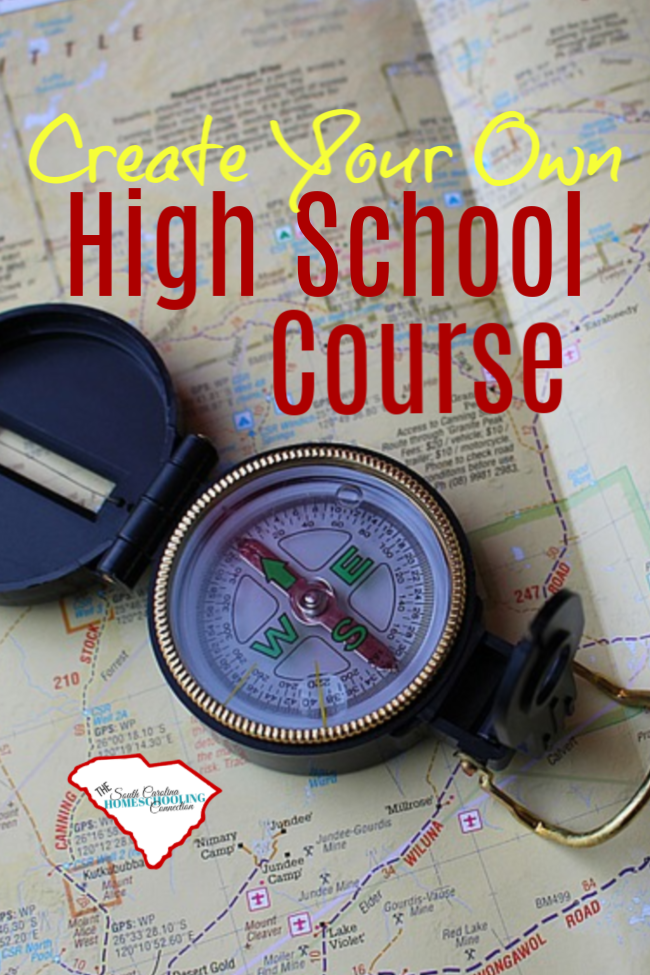 You can create your own high school course for anything. Let's talk some more about how to document your own course for high school credit.