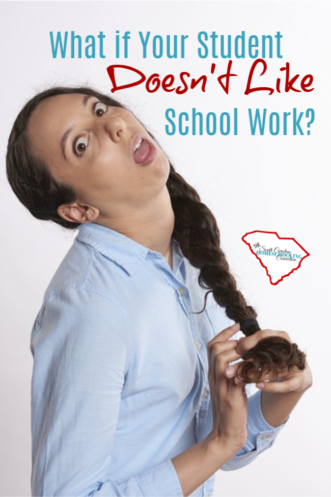 Does your homeschooler love schoolwork? What if your kid doesn't want to do school? Is that normal?