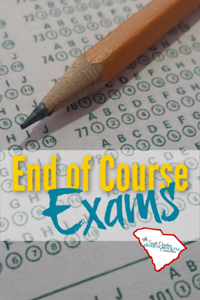 "An end of course exam (or EOC) is a statewide final exam for courses that are considered ""gateway"" courses. Does your homeschooler need this exam?"