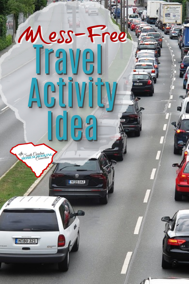 Where ever you are traveling this summer, these activity books are super fun, mess-free activities to bring along.