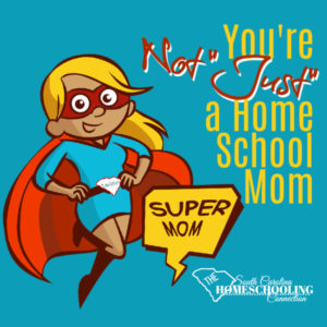"An ordinary life is not the same as a meaningless life.You're not ""JUST"" a homeschool mom. You're uniquely you. That's really extraordinary!"