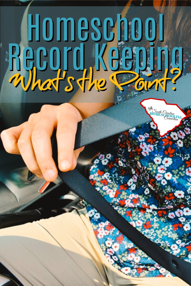 The law says to do it, yes. But what's the point of record-keeping anyway? The point of record-keeping is for YOUR own benefit.
