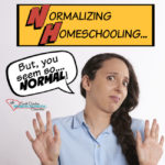 Woman suprised that homeschooler seems normal