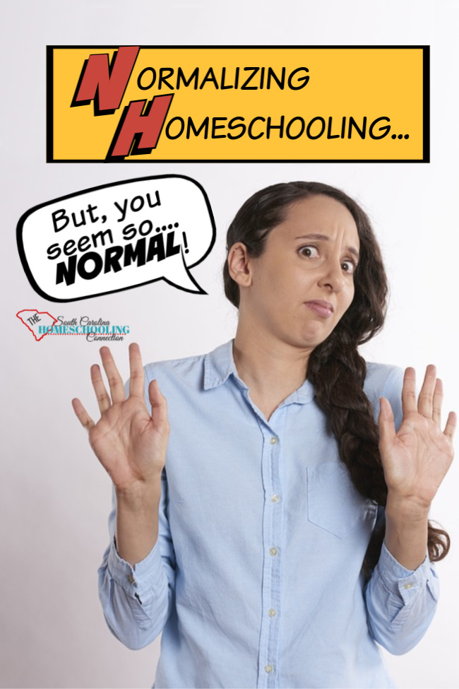 Woman suprised that homeschooler seems normal