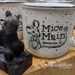 Mice on Main mug and figurine