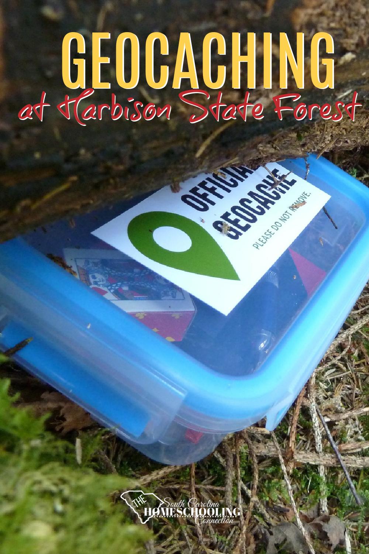 Geocache treasure box